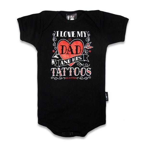 Body I love my Dad tattoos