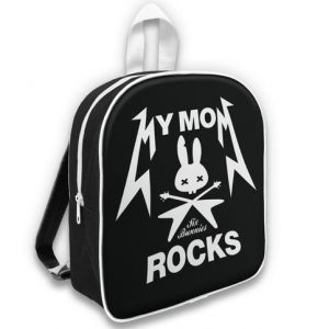 "Sac à dos ""My Mom Rocks"" by 6 bunnies"