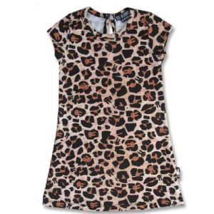 Robe leopard tan