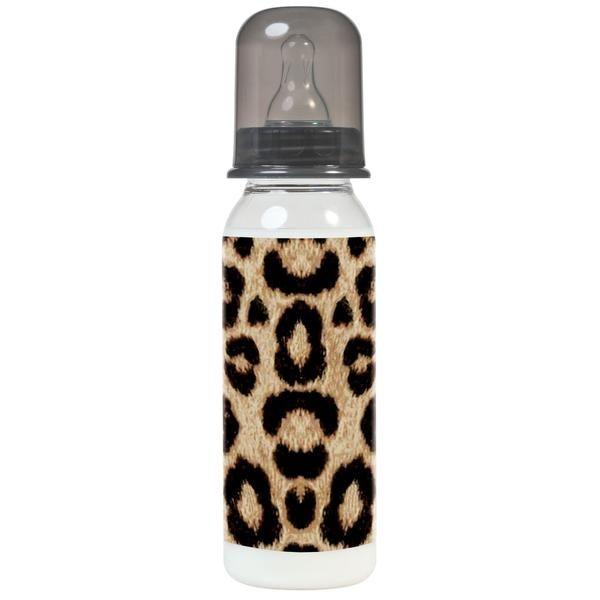 biberon imprimé de léopard pour bébé