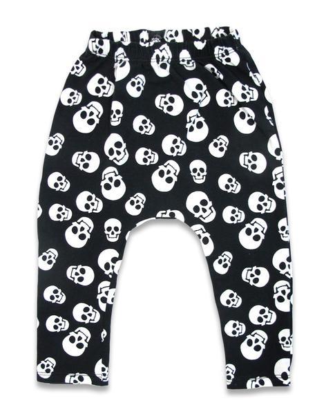 T-shirt et saroual polka skulls