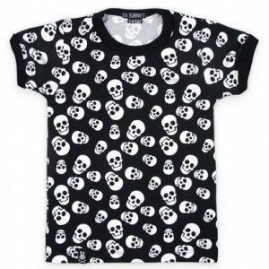 Tee-shirt Polka skulls