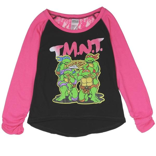 Tee-shirt fille Tortues Ninjas