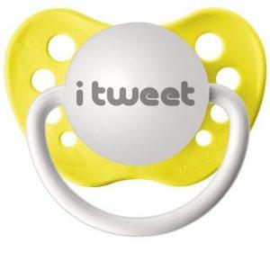 tétine twitter bébé