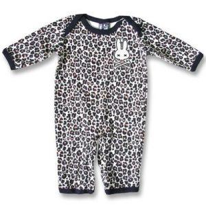 Grenouillère Leopard Tan