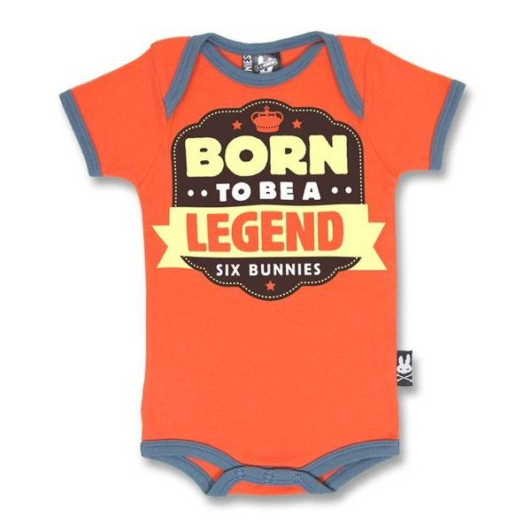 Body Born to be a Legend six bunnies