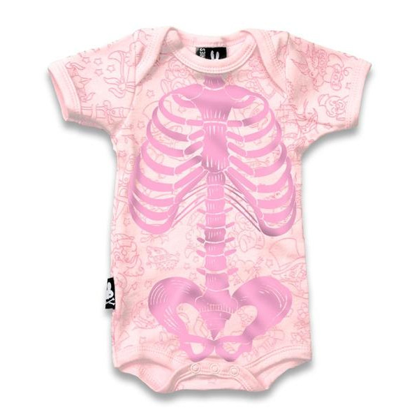 Body Squelette pink