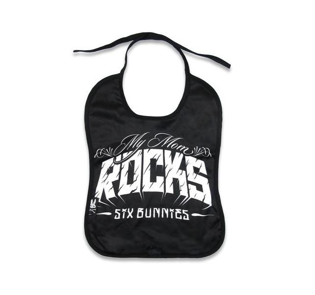 Bavoir pour bébé rock