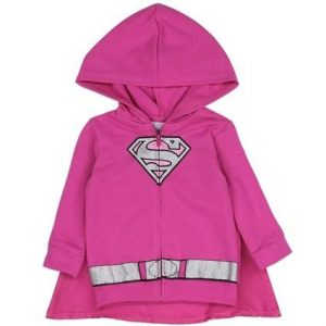 Veste + cape Super Girl