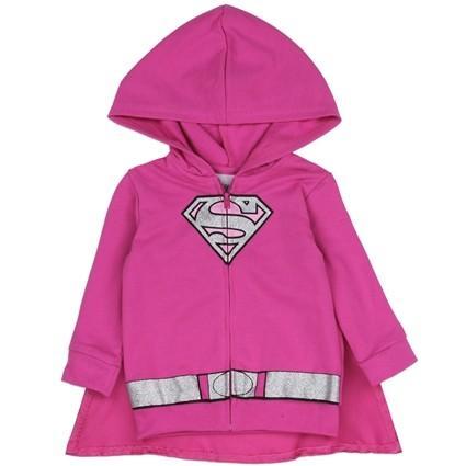 Veste + cape Super Girl