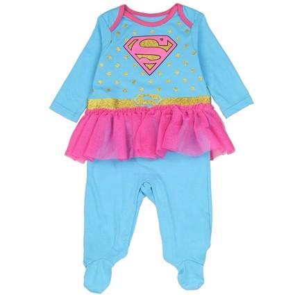 Pyjama Supergirl