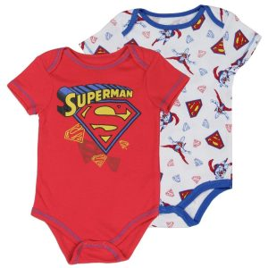 lot de 2 bodys superman