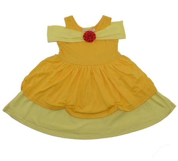Robe enfant Disneybound Belle