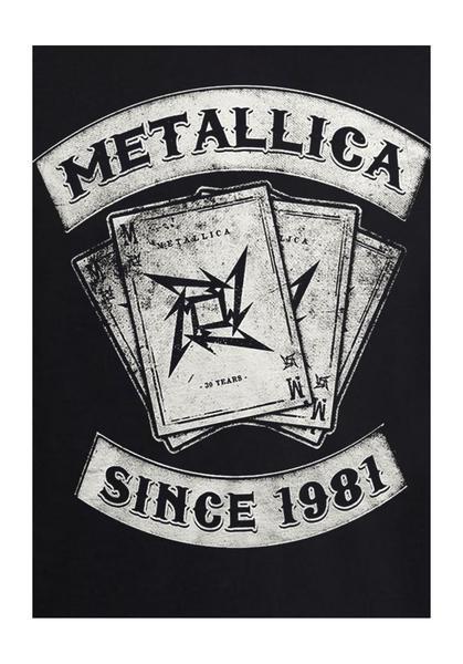 t-shirt metallica pour enfant