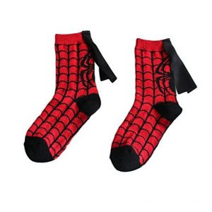 Chaussettes cape Spiderman