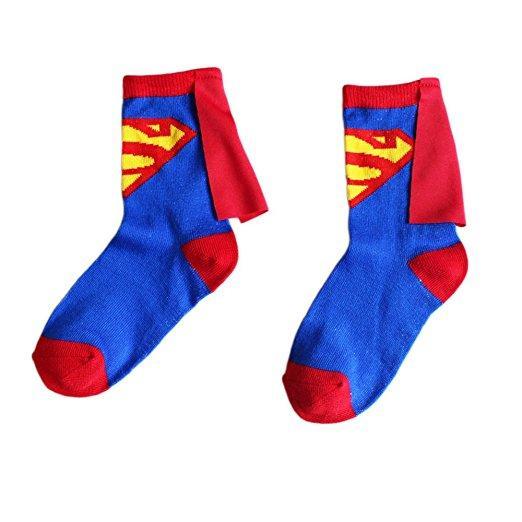 Chaussettes avec cape Superman