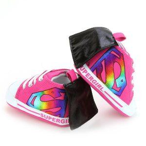Chaussures supergirl avec cape