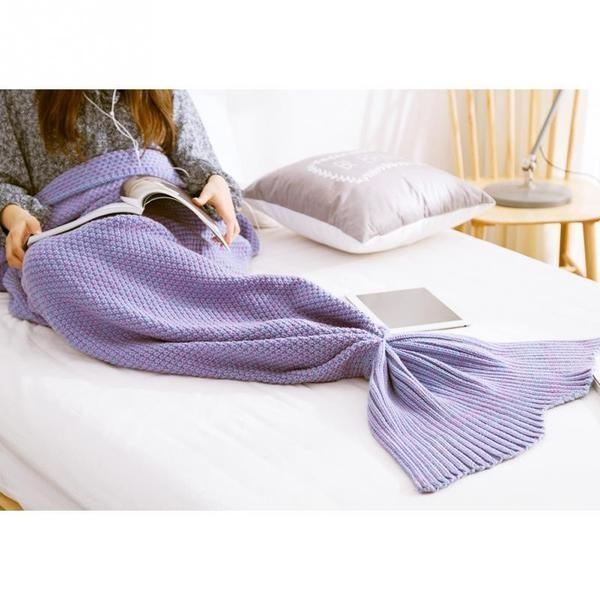 couverture laine sirène