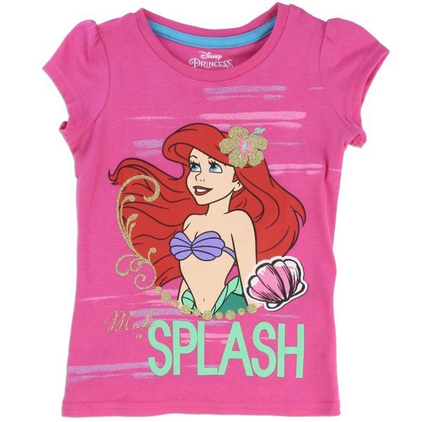 T-shirt Ariel la petite sirène pour fan de Disney