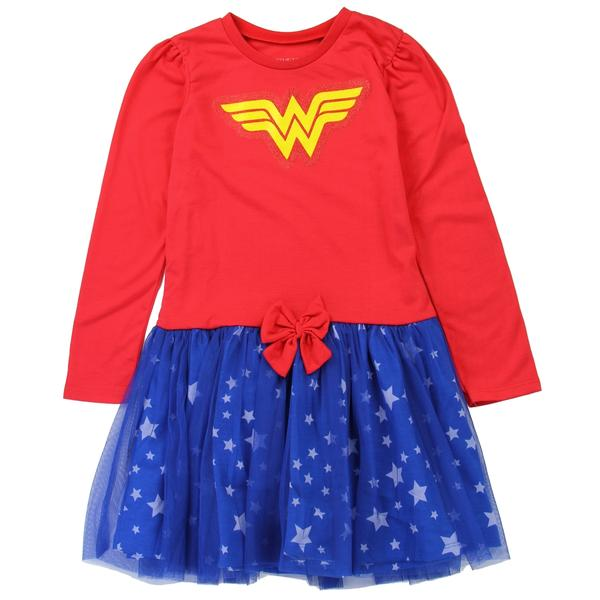 Robe Wonderwoman enfant