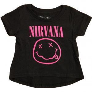 Tee-shirt fille Nirvana