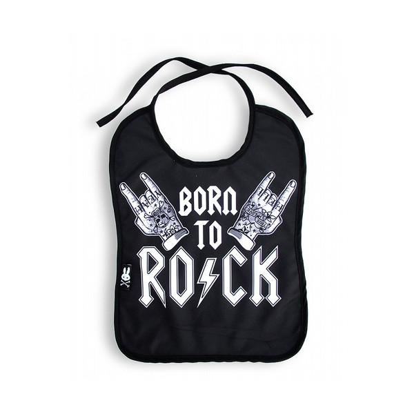 Bavoir Rock hand
