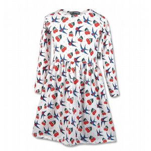 Robe cerry birds