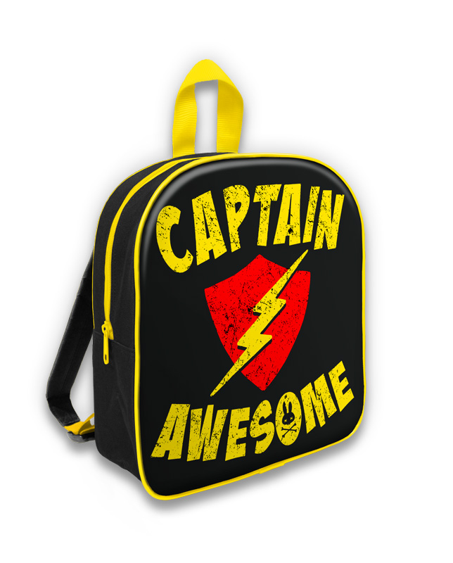 """Sac à Dos """"Captain Awesome"""""""