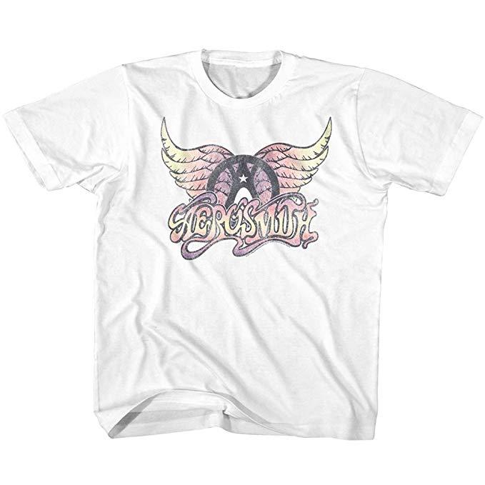 Tee-shirt Aerosmith Blanc pour enfant