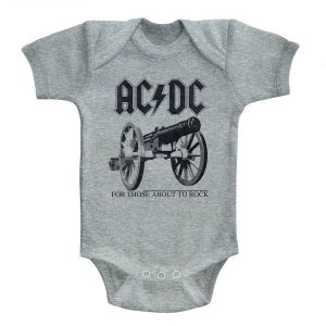 Body AC/DC gris For those about to rock