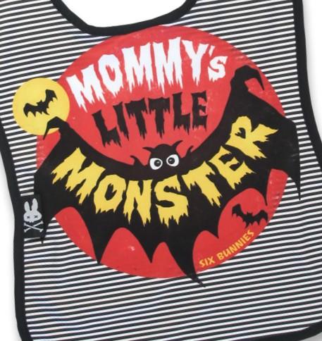 Bavoir mommy's lil monster