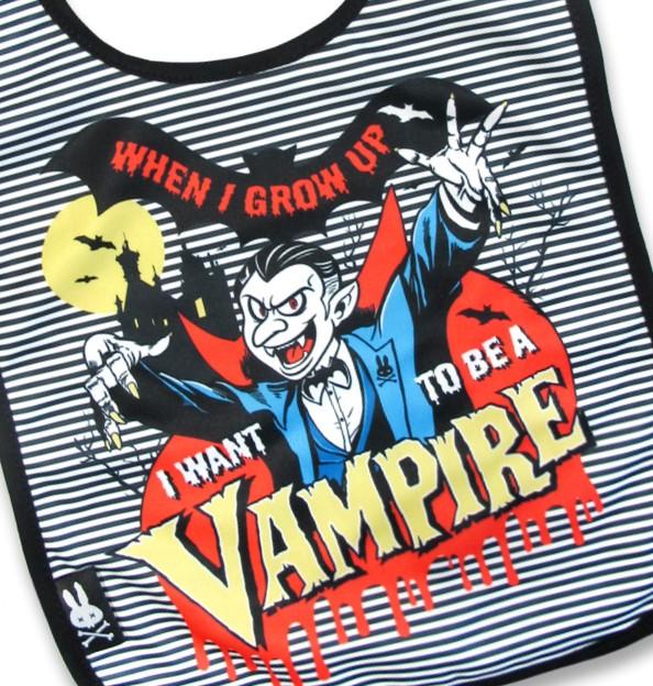 Bavoir vampire