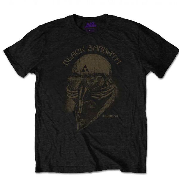Tee-shirt Black sabbath 1978
