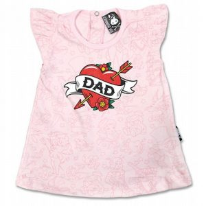 "Robe bébé ""Dad Tattoo"""