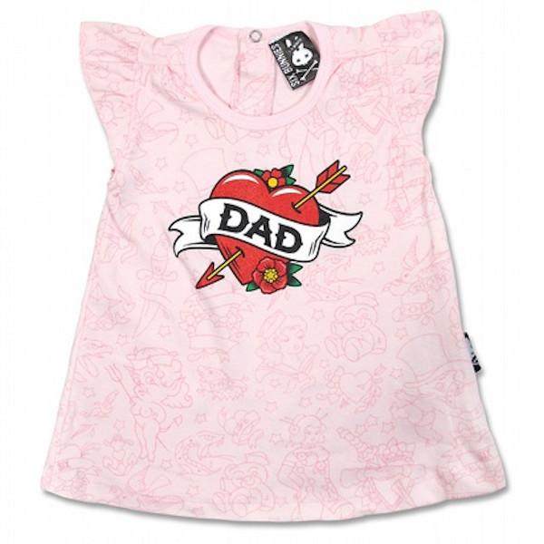 "Robe bébé ""Dad Tattoo"""