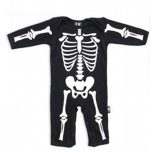 Combinaison bébé squelette