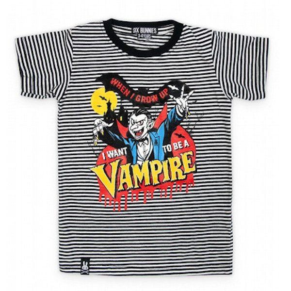 Tee-shirt enfant vampire
