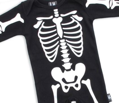 Combinaison skeleton
