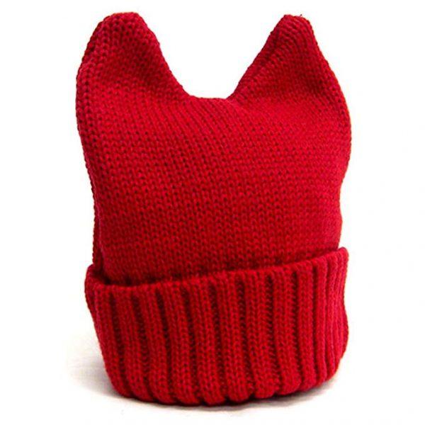 Bonnet devil rouge
