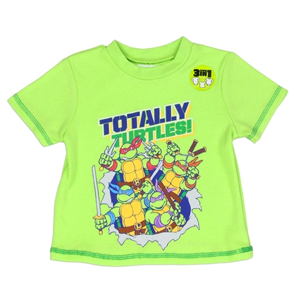 Tee-shirt bébé tortues ninjas