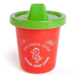 Tasse à bec sauce sriracha