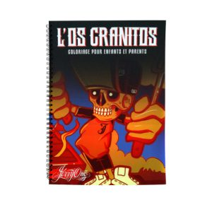 Coloriage L'os Cranitos by Jerry One
