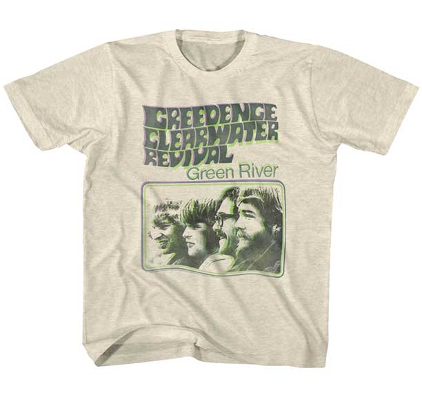 T-shirt Creedance Clearwater revival