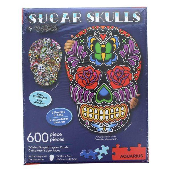 Puzzle skull 600 pièces